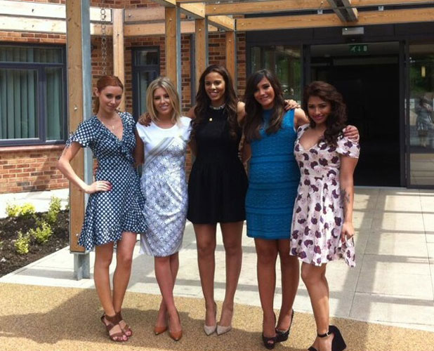 The Saturdays at the Marie Curie centre in Solihull, 21 June 2013