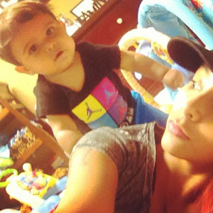 Snooki and Lorenzo Father's Day - 16 June 2013