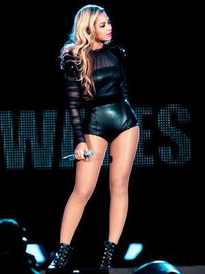 Beyonce performs at the Chime For Change concert in Twickenham, June 2013.