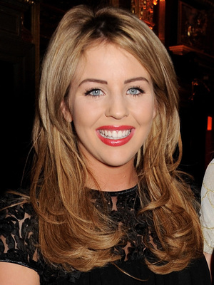 Lydia Bright, Bailey's New Bottle Launch Party held at the Pompadour Suite at Café Royal hotel - Inside