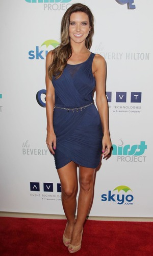 Audrina Patridge, The 4th Annual Thirst Gala at The Beverly Hilton Hotel - Arrivals - 25 June 2013