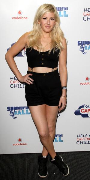Ellie Goulding Capital FM Summertime Ball Media Room at Wembley Stadium