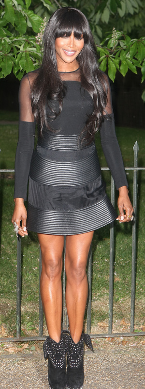 Naomi Campbell at the Serpentine Gallery summer party - London 26 June 2013