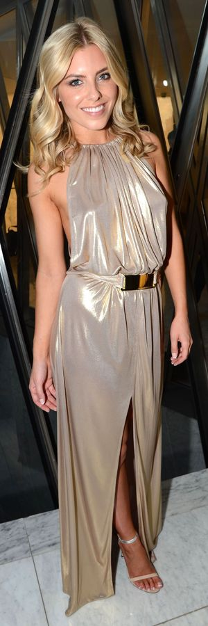 Mollie King models at the Resort 2014 Odabash Macdonald Collection Launch, ME Hotel, London, Britain - 25 Jun 2013