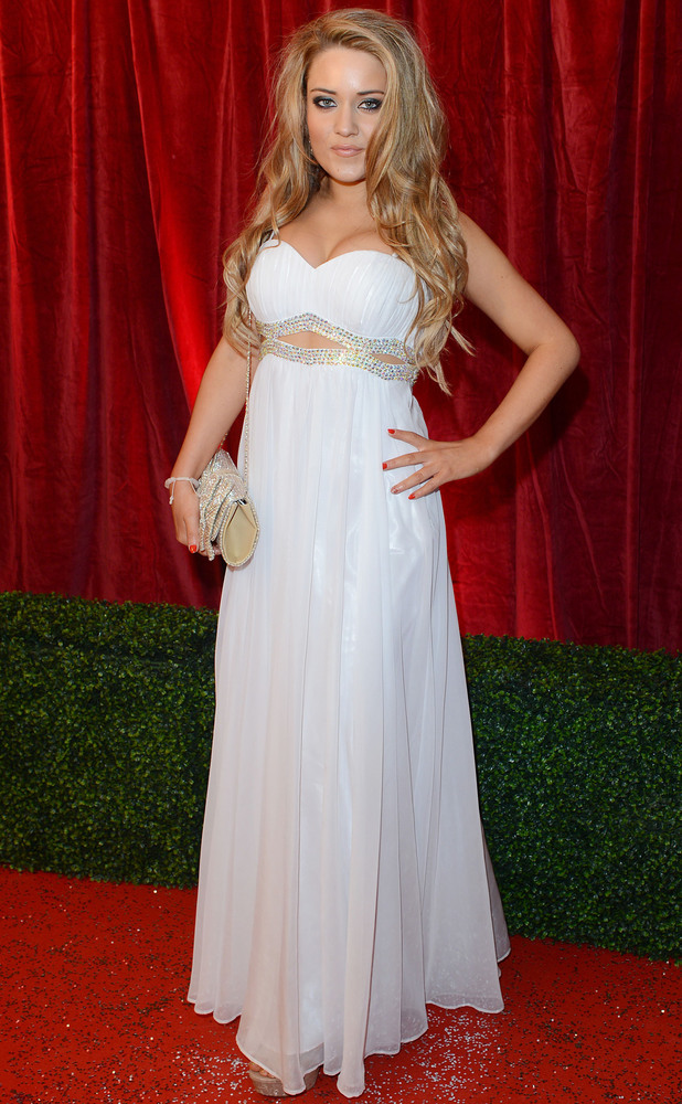 Abi Phillips The British Soap Awards 2012 held at the London TV Centre - Arrivals London, England - 28.04.12