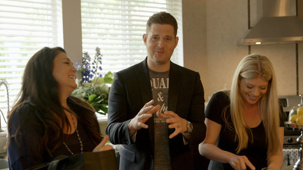 Michael Bublé's Day Off, Michael and his sisters, ITV, Sun 30 Jun