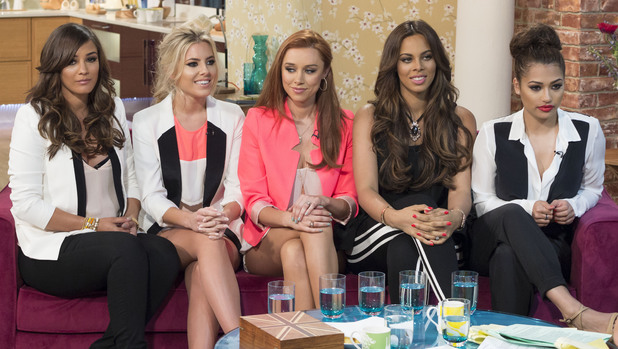 This Morning' TV Programme, London, Britain. - 28 Jun 2013 The Saturdays - Frankie Sandford, Mollie King, Una Healy, Rochelle Humes and Vanessa White