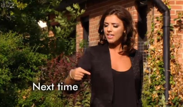 TOWIE's Lucy Mecklenburgh yells at Mario Falcone for cheating seven times - 27 June 2013