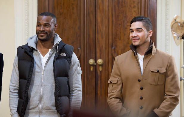 Tyson Beckford and Louis Smith on Britain & Ireland's Next Top Model - June 2013