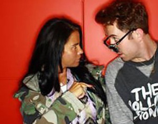 Katie Price and Nick Grimshaw for Call Or Delete - 27 June 2013