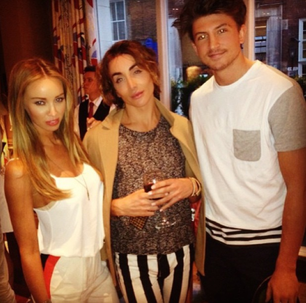 Lauren Pope and Tom Kilbey at 'ThisIs The End' screening - June 2013