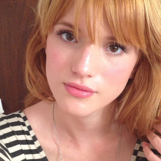 Bella Thorne Instagram barely-there make-up