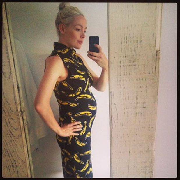Cherry Healey reveals she is pregnant with her second child - June 2013