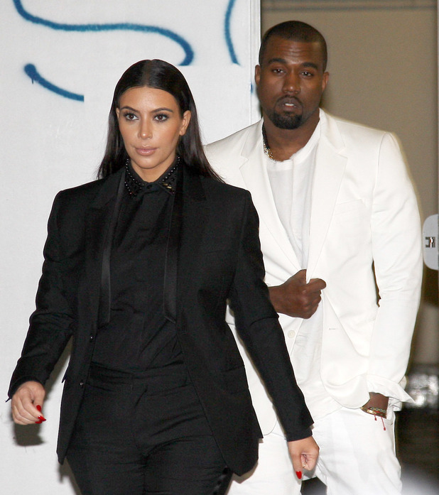 Kim Kardashian, Kanye West - 03/03/2013 - Paris, France