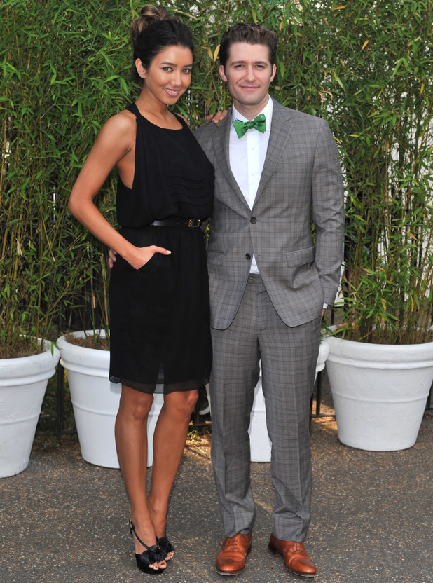 Serpentine Summer Party, Hyde Park, London, Britain - 26 Jun 2013 Renee Puente and Matthew Morrison 26 Jun 2013