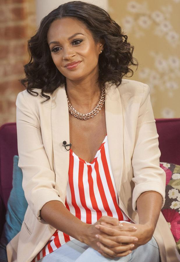 Alesha Dixon, 'This Morning' TV Programme, London, Britain - 27 Jun 2013