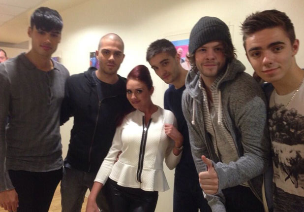 Amy Childs and The Wanted, 24 June 2013