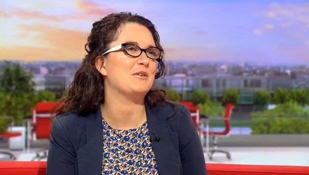 Andrea Begley on BBC Breakfast, Monday 24 June 2013