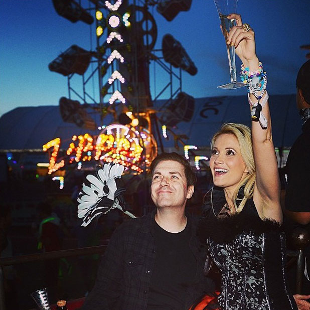 Holly Madison and Pasquale Rotella celebrate their official engagement, June 2013