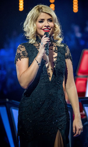 Holly Willoughby on The Voice, June 2013
