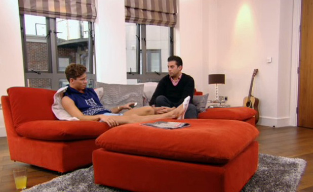 TOWIE: Joey Essex speaks to Arg about ex-fiancee Sam Faiers' letter Aired: 23 Juned 2013.