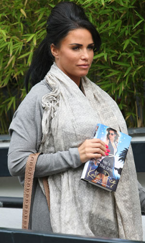 Katie Price in London, 27 June 2013