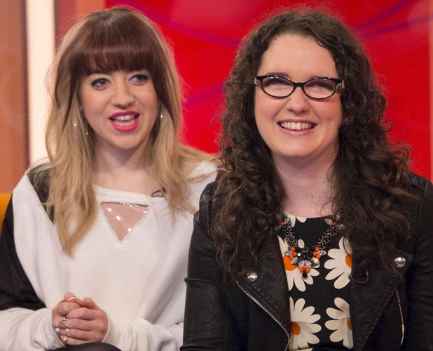 Andrea Begley and Leah McFall on Lorraine, 20 Jun 2013