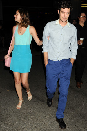 Adam Brody and girlfriend Leighton Meester out and about in Los Angeles, America - 26 Jun 2013 Leighton Meester and Adam Brody 26 Jun 2013