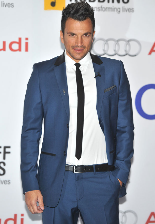 Peter Andre, Nordoff Robbins O2 Silver Clef Awards held at the London Hilton Park Lane, 28 June 2013