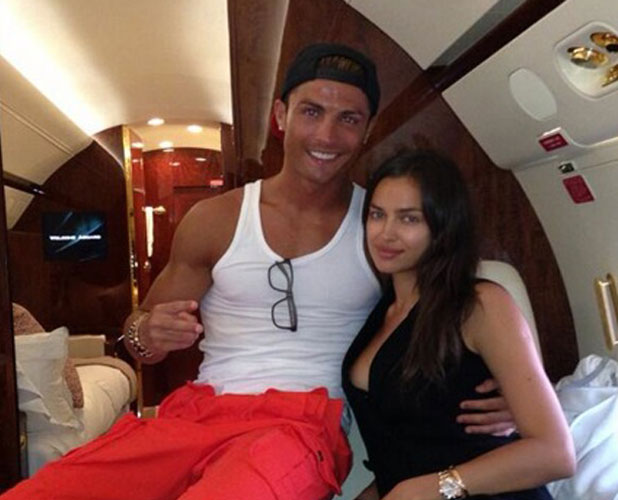 Irina Shayk and Cristiano Ronaldo in New York, June 2013