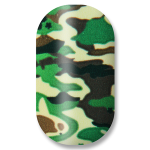 Minx Nail Designs in Camoflage