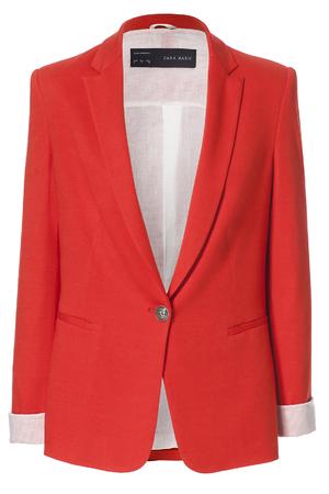 Orange blazer, £39.99, Zara