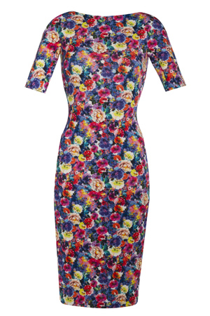 Floral dress, £59.99, Zara