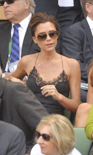 Victoria Beckham at Wimbledon Tennis Championships, Men's Singles Final, London, Britain - 07 Jul 2013