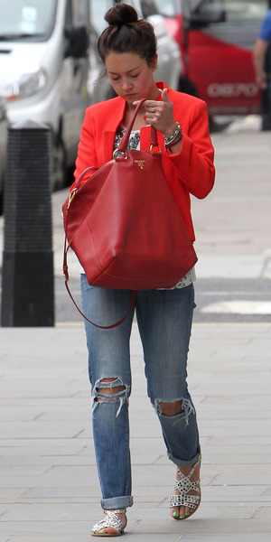 Lacey Turner out and about in London, Britain - 04 Jul 2013