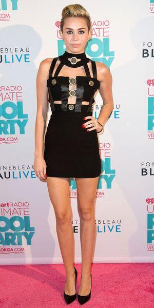 Miley Cyrus at iHeartRadio Ultimate Pool Party, Florida, America - 29 Jun 2013
