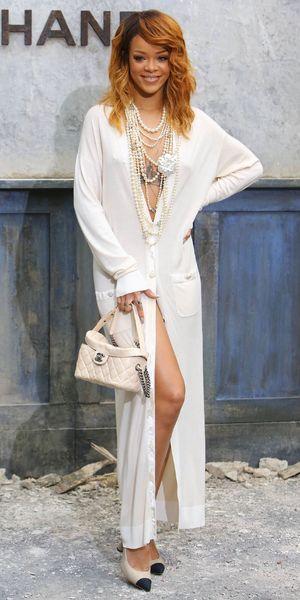 Rihanna Chanel show, Haute Couture Fall Winter 2013, Paris Fashion Week, France - 02 Jul 2013
