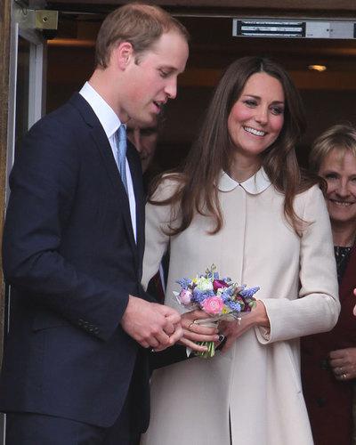 Catherine, Duchess of Cambridge and Prince William, Duke of Cambridge leave The Clare Foundation