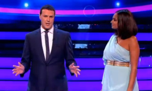 Paddy McGuinness and Alesha Dixon - Your Face Sounds Familiar - 29 June 2013