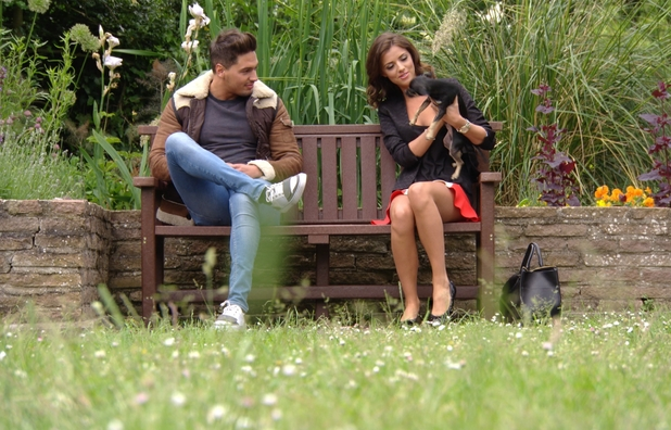 Lucy Mecklenburgh and Mario Falcone - TOWIE - Sunday 30 June 2013