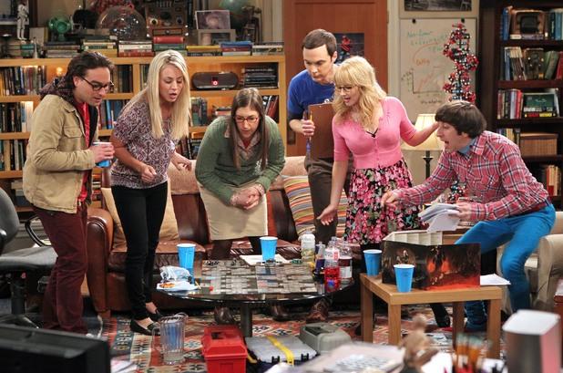 The Big Bang Theory, the gang play dungeons & dragons, Thu 4 Jul