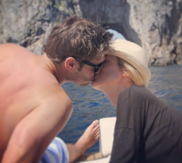 Kristin Cavallari and husband Jay Culter on their honeymoon in Italy - 1 July 2013