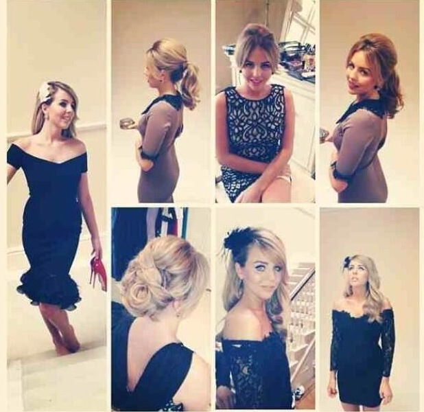 Lydia Bright reveals her autumn/winter clothing collection on 2 July 2013
