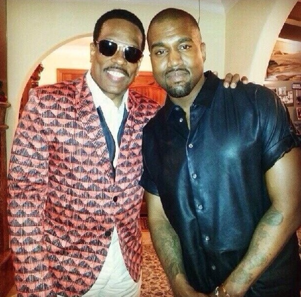 Kanye West, Charlie Wilson - BET After party - 30 June 2013