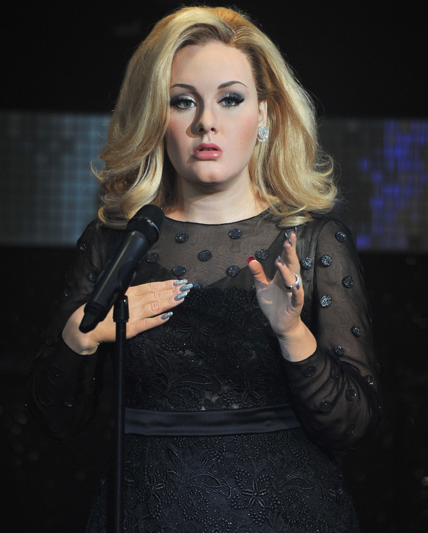 Adele waxwork unveiling held at Madame Tussauds London - 3 July 2013
