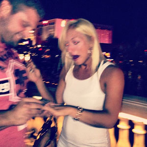 Brooke Hogan is engaged to Phil Costa, June 2013