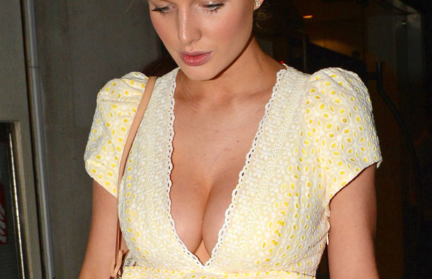 Helen Flanagan out and about in London, Britain - 30 Jun 2013