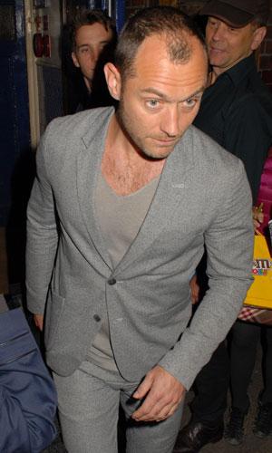 Jude Law at the Apollo Theatre, 1 July 2013