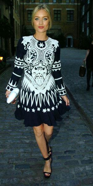 Laura Whitmore at Fashion Monitor Awards on 2 July 2013
