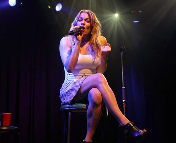 LeAnn Rimes performing at the Friend Movement benefit, LA, 1 July 2013